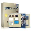 Logiciel de travail collaboratif Tamashare - 20 utilisateurs - 1an