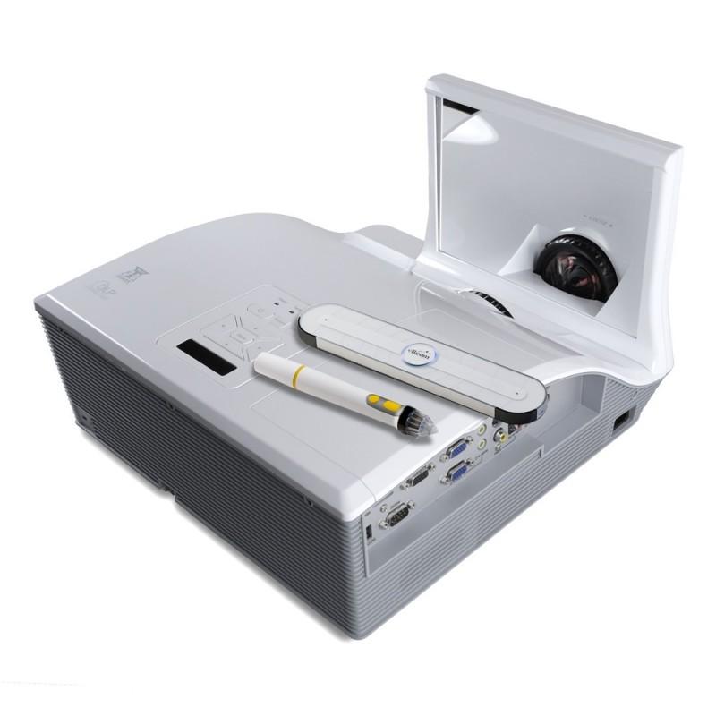 Vid oprojecteur speechi ultra courte focale 310 w i r - Videoprojecteur focale courte ...